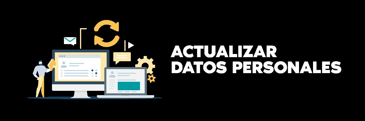 Cabecera de actualizar datos