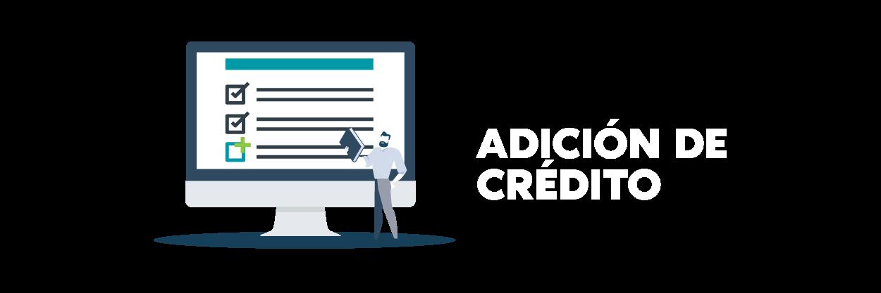 Cabecera de adicion_creditos